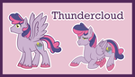 Thundercloud ref (G1 to G4) by Bakufoon