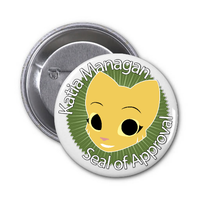 Katia Managan Seal of Approval Pin by ZizZazZuz