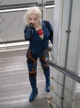 Jill Valentine RE5 Cosplay by EscapedAngel