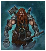 Ulfanc-War Maven Dwarf by Raaom