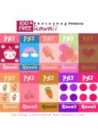 my Kawaii Pattern by silva018