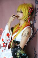 Vocaloid-VanaN'ice-Gakupo, Len by meow-love-cupcakes