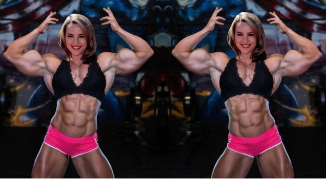 Bridgit Double Double Biceps by Turbo99