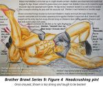 Brother Brawl Series 9: Figure 4 Headcrush! by canterpark