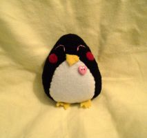 Mini Penguin Plushie by XOFifi
