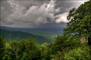 Storm Across The Valley by bamako
