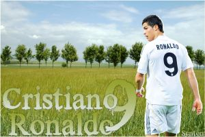 Cristiano Ronaldo Grass by SentonB