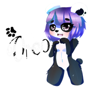 [COMMISSION] Oreo the Panda by Vivi-Chuu