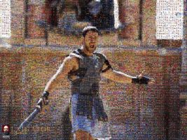 Gladiator Photomosaic by DolfD
