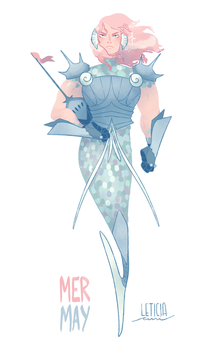 #MERMAY | Tess by weirdlyprecious