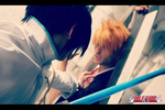 Bleach: Ishida Uryuu Cosplay with Ichigo 2 by Schismism7