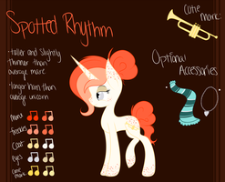 New Spotted Rhythm Reference Sheet by spottie-dots