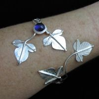 4 Ivy Leaf Gemstone Wrap by camias