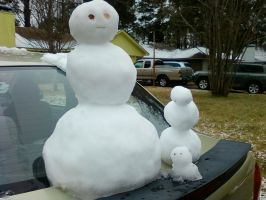 Snow People by Adelida