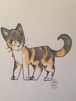 Another Calico cat by Bramblepelt34