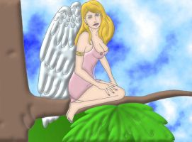 An Angel by Psee