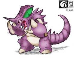 Akuyaku the Nidoking by kompy