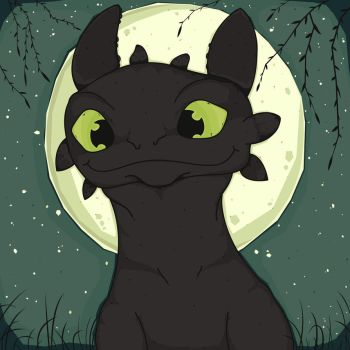 Toothless by Kritzmire