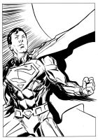 New DC Superman by stokesbook