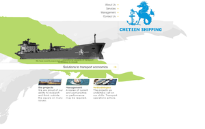 Shipping Web Site by gudubeth