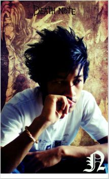 Me as L from Death Note by pr0str3et