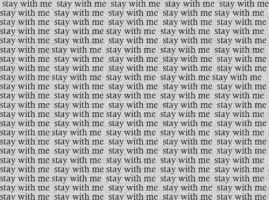 stay with me by GodsGirl33