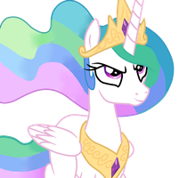 Mlp celestia vector by Original-Celestia