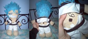Grimmjow Plushie by Arandell