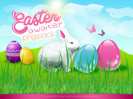 Easter awaiter png pack by iamszissz