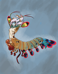 - Peacock Mantis Shrimp - by Kanti-Kane