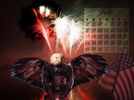 Fourth of July by 3punkins