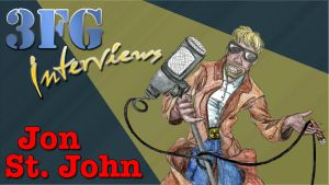 3FG Interviews Jon St John by VenGethenian
