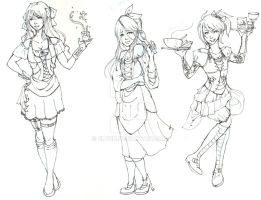 Barwench Outfits by ZLynn