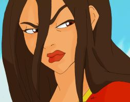 Azula in color by Amelia01