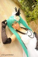 Hatsune Miku ver. Camellia. by cure-pain