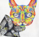 Psychadelic Catfish by Flame-and-Darkness