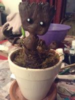 My Little Groot by Trixify