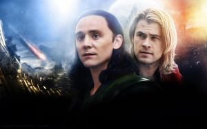 Thor and Loki (Ragnarok) by AnnGeea