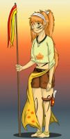 ROTG - Human Ember March by ladyofthewilds