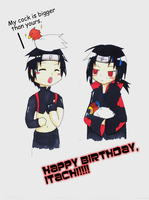 Happy Pre-B-Day, Itachi by Devious-Rookie