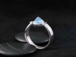 sterling silver topaz ring by tinkerSue