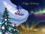 Happy Holidays from Sonic by Rally-the-Cheetah
