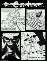 Dr. Cortex -experimental comic by JenL