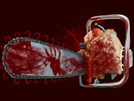 Bloody Chainsaw by Indirectly