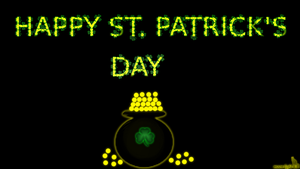 St. Patrick's Day Wallpaper by moon-light-kit