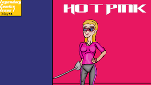 The Hot Pink cover Issue 1 by TheDoctorWriter