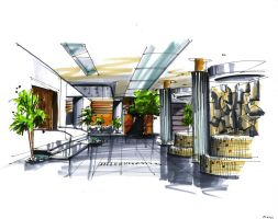Interior marker rendering 2 by zlaja