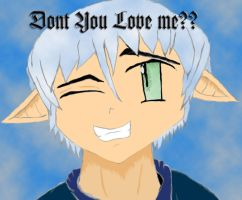 ::Don't U Luv Me??::coloured by chaoticdarkness