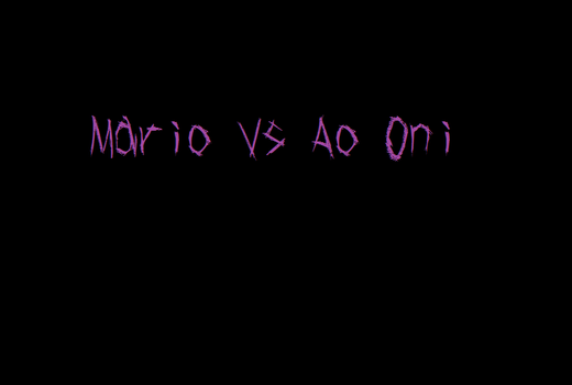 Mario vs Ao Oni (Demo) dl by IvanSorokin50