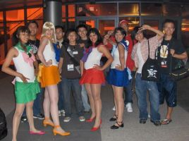 Sailor Scouts and Fanboys by YoruichiNyow
